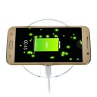 Transparent Qi Wireless Charger for Samsung S6 / S6 Edge - Green