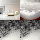 Tempo Drop Weather Forecast Bottle Storm Glass for Decoration - White