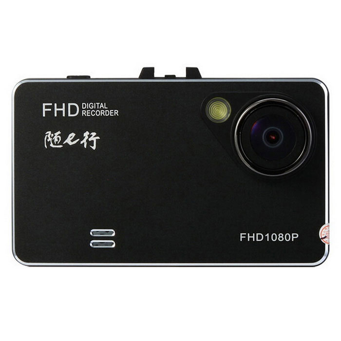 "X6 Car Camcorder DVR w/ 2.7"", 5MP, FHD 1080P HDMI, AV Output - Black"