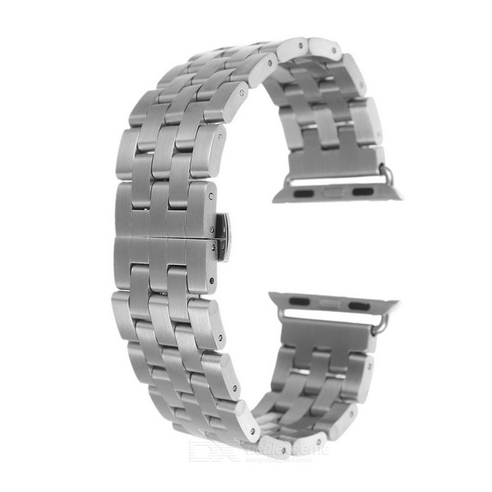 MINI SMILE banda para reloj para APPLE WATCH 38mm - plata