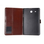 PU Leather Wallet Case for Samsung Galaxy Tab E 9.6 T560- Black