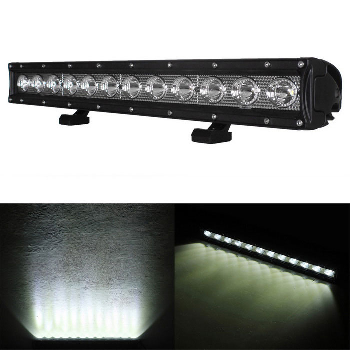 Barra del worklight de la luz del LED 12-LED del punto 60W que conduce jeep todoterreno 4WD