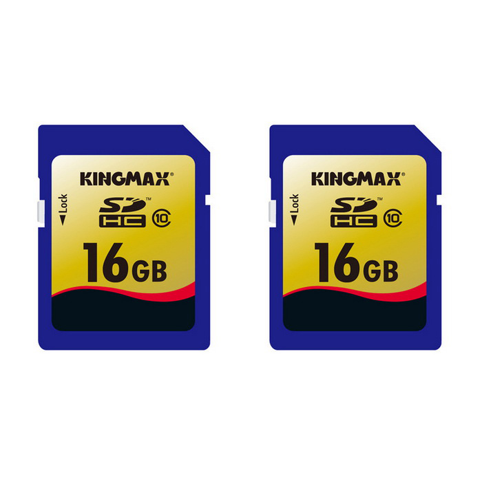 KINGMAX Class10 SD 16GB Secure Digital SDHC Flash Memory Card