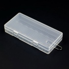 Soshine Protective Plastic Case for 8-AA Batteries - Transparent (8PCS)