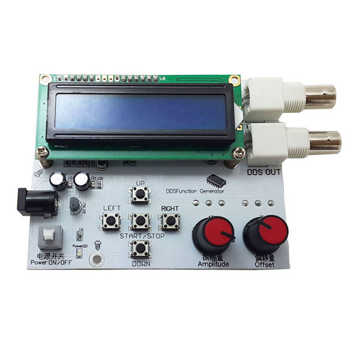 "2.6"" LCD Low Frequency DDS Signal Generator - White + Blue"