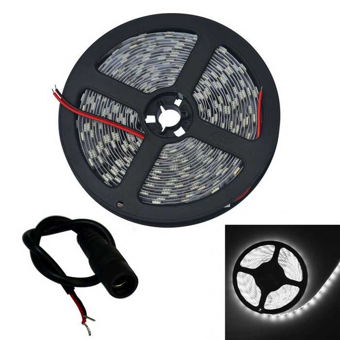 JIAWEN 64W LED Strip Lamp Cool White 5120lm 300-5050 SMD (DC 12V/5M)