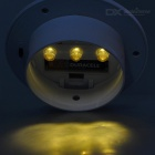 Solar Powered Waterproof Warm White LED Eave / Garden / Wall Lamp