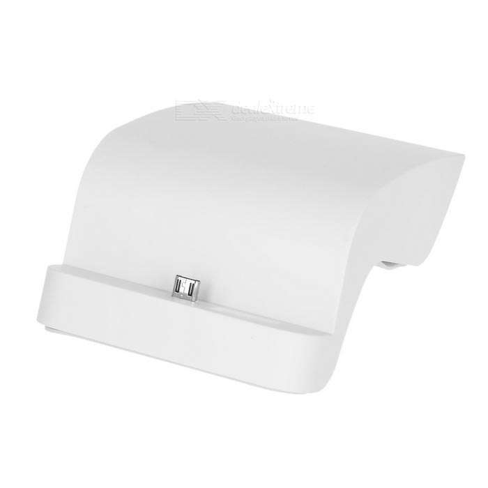 S-Shape Phone Charging Dock for Samsung Galaxy Note 5 - White