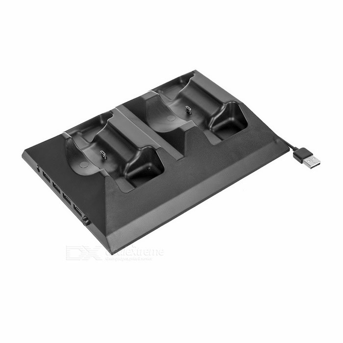 Charging Dock w/ USB 4-Port Hub, Cooling Fan for XBOX ONE Controller
