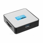 All-in-One USB 3.0 SD / TF / CF / MS / M2 / XD Card Reader - Black + White