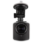X4 2.4'' Full HD 1080P 170 Degree Wide Angle WDR Car DVR w/ Night Vision - Black + Silver