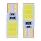 T10 3W 12-COB LED Car License Plate / Indoor Light / Width Lamp White Light 165lm (12V / 2 PCS)