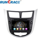 "Rungrace RL-499AGIR 7"" 2 Din Car DVD Player for Hyundai Verna w/ BT, IPOD, GPS, Wi-Fi, ISDB-T"