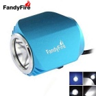 FandyFire Outdoor T6 3-Mode Cool White LED Headlight for Mountain Biking - Blue (6 x 18650)