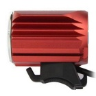 FandyFire Outdoor T6 3-Mode Cold White LED Headlight for Bike - Red