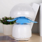 QGD-001 BT 3.0 Speaker / Touch Control Lamp w/ TF - White + Blue
