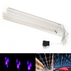 Christmas Wedding Garden Decoration Purple Light Meteor Shower RainTube Lights (DC 12V / US Plug)
