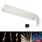 Christmas Wedding Garden Decoration Warm White Meteor Shower RainTube Lights (DC 12V / US Plug)