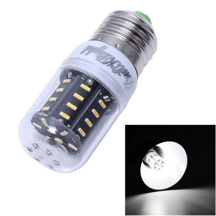 YouOKLight E27 5W LED Corn Bulb Cold White Light 6500K 450lm 36-SMD