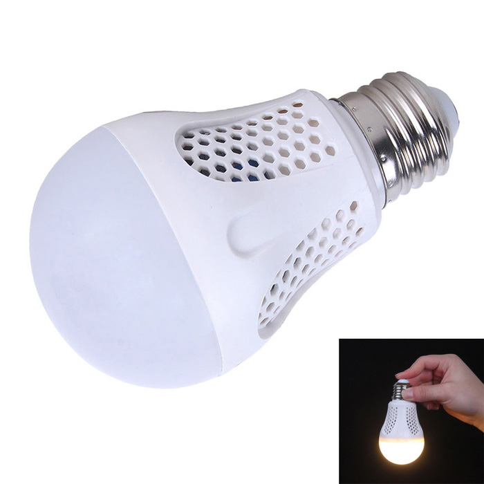 KINFIRE E27 9W LED intelligent nood-lamp warm wit 720lm 22-SMD