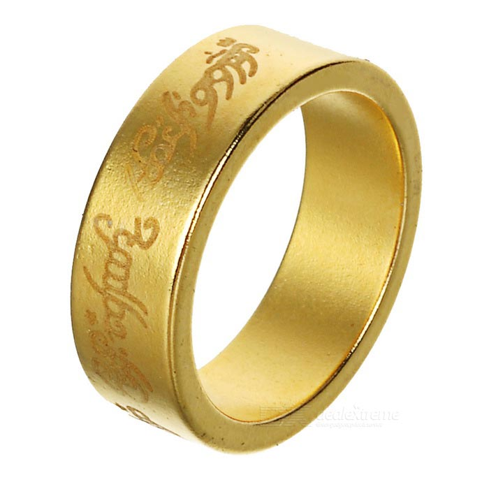 Mini Magic Magnetic Finger Ring - Golden (S)