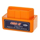 Mini ELM327 Bluetooth Car OBDII Fault Code Reader Scanner Diagnostic Tool - Orange
