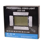 LED-330A 24W 330-LED Video Light Camera Photography Lighting