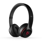 Original Beats Solo2 3.5mm Wired Headband Headphone w/ Mic. / Remote - Black
