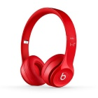 Beats Solo2 3.5mm Wired Headband Headphone w/ Mic. / Remote - Red