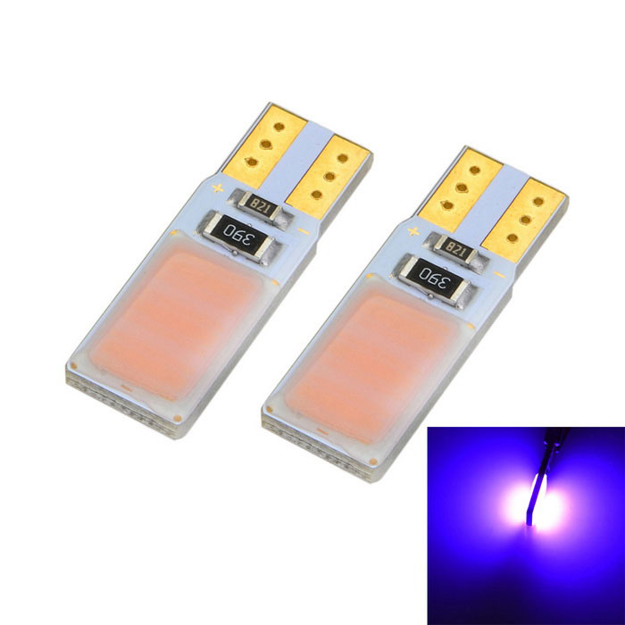 Marsing T10 5W COB LED Car Width Lamp Pink Light Decoded Canbus (2PCS)