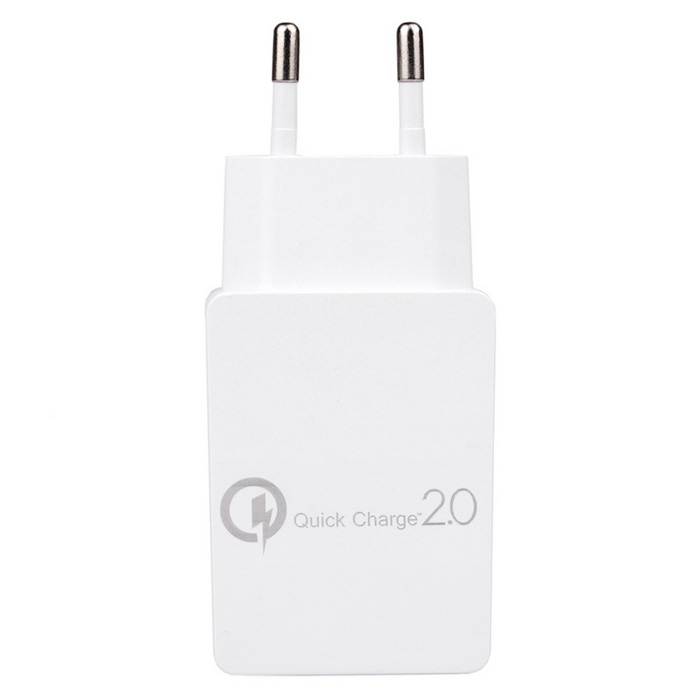 Itian Premium Design EU Plug Quick Charge 2.0 15W Wall Charger - White