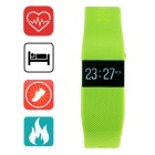 "Aoluguya 0.44"" OLED Bluetooth Smart Bracelet w/ Dynamic Heart Rate Monitor, Sleep Track, Pedometer"