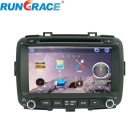 "Rungrace 8"" TFT Screen Car DVD Player w/ Bluetooth, GPS, ISDB-T, RDS for Kia Carens - Black"