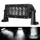 Flood 36W 3060lm 12-LED White Light Offroad Car Light Bar Working Lamp (10~30V)
