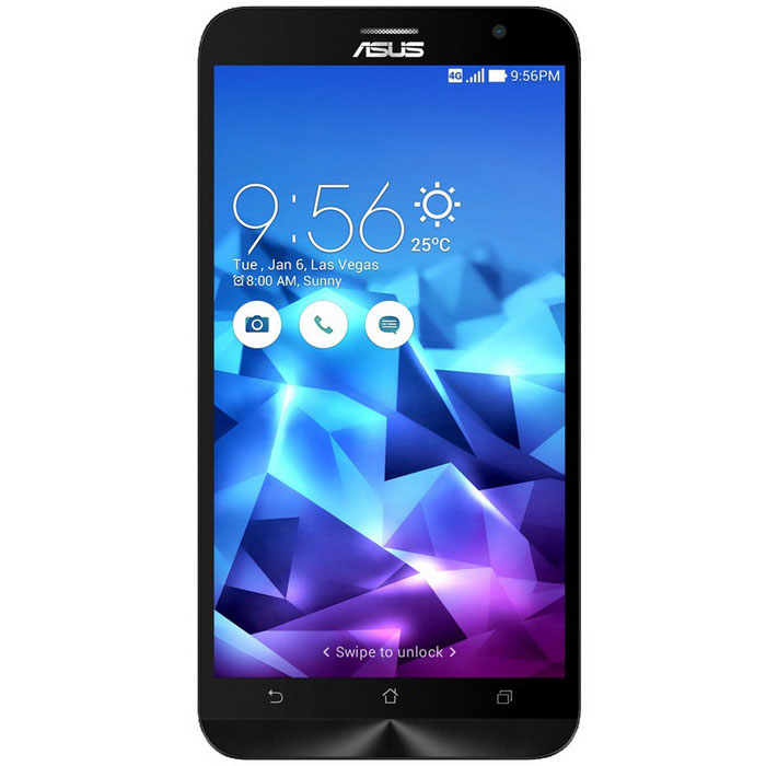 ASUS ZenFone 2 ZE551ML Android5.0 4G Phone w/ 4GB RAM, 16GB ROM - BlueAndroid Phones<br>Form  ColorBlueRAM4GBROM16GBBrandASUSModelZE551MLQuantity1 DX.PCM.Model.AttributeModel.UnitMaterialPlasticShade Of ColorBlueTypeBrand NewPower AdapterUS PlugsNetwork Type2G,3G,4GBand Details2G: GSM 850/900/1800/1900MHz; 3G: WCDMA 850/900/1900/2100MHz; 4G: FDD-LTE B1/B3       TDD-LTE B38/9/40/41Data TransferGPRS,HSDPA,EDGE,LTE,HSUPANetwork ConversationOne-Party Conversation OnlyWLAN Wi-Fi 802.11 b,g,nSIM Card TypeStandard SIMSIM Card Quantity2Network StandbyDual Network StandbyGPSYesNFCYesInfrared PortNoBluetooth VersionBluetooth V4.0Operating SystemAndroid 5.0CPU ProcessorAtom Z3560, 64 bit, Quad Core, 1.8GHzCPU Core QuantityQuad-CoreLanguageEnglish, Afrikaans, Bahasa Indonesia, Bahasa Melayu, Catala, Cestina, Dansk, Deutsch, Eesti, Espanol,  Filipino, French, Hrvatski, Isizulu, Kiswahili, Italiano, Latviesu, Lietuviu, Magyar, Nederlands, Norsk, Polish, Portuguese, Romana, Rumantsch, Slovencina, Slovenscina, Suomi, Svenska, Vietnamese, Turkish, Greek, Bulgarian, Russian, Serbian, Ukrainian, Urdu, Hebrew, Arabic, Persian, Thai, Khmer, Hindi, Bengali, Japanese, Korean, Simplified/Traditional ChineseGPUPowerVR G6430Available MemoryN/AMemory CardYesMax. Expansion SupportedSupport TF card up to 64GB extendedSize Range5.5 inches &amp; OverTouch Screen TypeOthers,IPS Corning® Gorilla® Glass 3Screen Resolution1920*1080Multitouch10Screen Size ( inches)5.5Camera Pixel13.0MPFront Camera Pixels5.0 DX.PCM.Model.AttributeModel.UnitVideo Recording Resolution1080PFlashYesAuto FocusYesTouch FocusYesTalk Time120~150 DX.PCM.Model.AttributeModel.UnitStandby Time120~180 DX.PCM.Model.AttributeModel.UnitBattery Capacity3000 DX.PCM.Model.AttributeModel.UnitBattery ModeNon-removablefeaturesWi-Fi,GPS,FM,Bluetooth,NFCSensorG-sensor,Proximity,Compass,Accelerometer,Others,Light sensor, gyroscope sensors, rotation vector sensorWaterproof LevelIPX0 (Not Protected)I/O InterfaceMicro USB,3.5mm,SIM SlotUSBMicro USB v2.0,OTGSoftwarePlay store, Amazon Kindle, Email, Drive, FM, FlashLight, Kids Mode, Mirror, Music, YouTube, Weather, Gmail, Google, Google+, Browser, Camera, Clock, Backup, ASUS helpFormat SupportedAudio formats support: MIDI/MP3, AAC, etc Video format support: 3GP/MP4, etcJAVANoTV TunerNoRadio TunerFMWireless ChargingOthers,NFCPacking List1 x Cell phone1 x Cable (90cm)1 x Charger (US plug / 100~240V)1 x English user manual<br>
