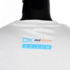 Urban DXMan Short Sleeves T-shirt for Men - White (L)