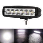 18W 1440lm 6000K 6-LED White Spot Beam Work Light Bar Off-Road Car Work Light (DC10-30V)