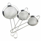 Kitchen Stainless Steel Net Barrier Spoon (3PCS)