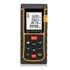 "LDM-E80 80m 1.8"" Laser Distance / Area / Volume Meter w/ Bubble Level - Black + Yellow (2 x AAA)"