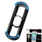 Car Air Vent Mount for IPHONE, Android Phones - Black + Blue (2PCS)