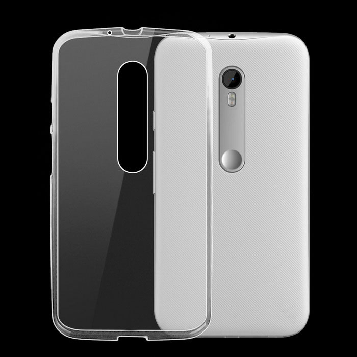 ultra-dunne TPU Cover Case voor Motorola MOTO G3 - transparant