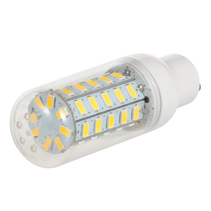 GU10 3.5W 600lm 3500K 48-5730 LED Warm White Light Corn Lamp