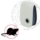 Electronic Ultrasonic Mosquito Insect Pest Mouse Killer Magnetic Repeller - White