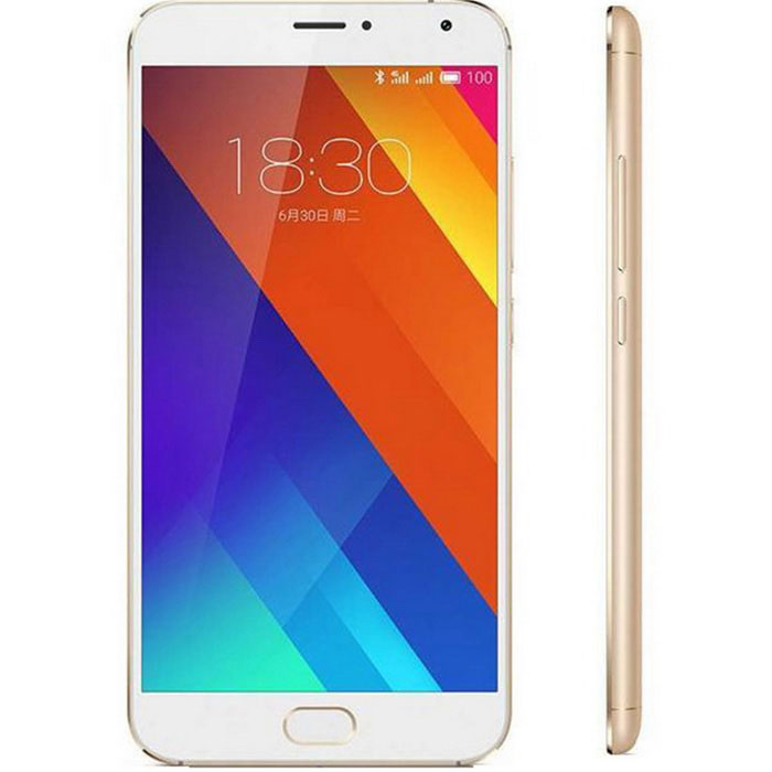 MEIZU MX5 Android 5.0 Octa-Core 4G Phone w/ 3GB RAM, 16GB ROM - Golden