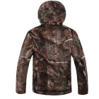 Men's Loose Big Leisure Wind-proof Polyester Coat - Camouflage (L)