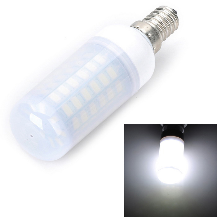Marsing E14 Frosted 12W Corn Bulb Lamp LED Cold White Light 54-SMD