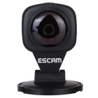 "ESCAM Diamond QF506 1/4"" CMOS 1MP 720P P2P IP Camera - Black (AU Plug)"