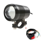 Universal 30W 1000lm 7000K U2 LED Headlight Foglight for Motorcycle / Auto Light (12-60V)