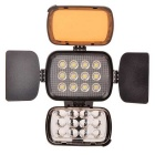 LED-VL015 27W 1900lm 3200K / 5500K 12-LED Video Light Camera Photography Light