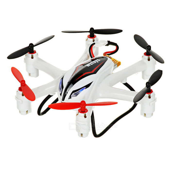 WLtoys Q282-G 5.8G 4-CH r / c quadcopter w / gyro - wit + rood